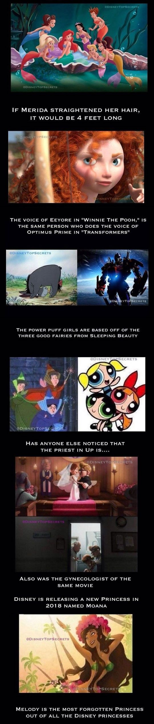 Interesting Disney Secrets