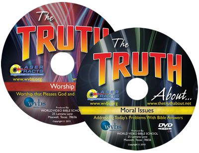 Do you have questions? Are you searching for answers? Find the Truth about a variety of topics, from Moral issues including Drinking, Pornography, Gambling, Modesty, and Lying, to Worship issues including Prayer, Bible Study, Singing, and Staying Saved.