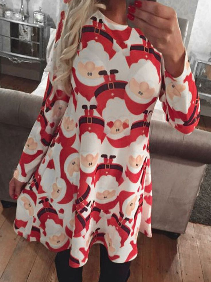 http://www.mynystyle.com/products/white-and-red-santa-claus-print-long-sleeve-shift-dress?utm_campaign=Pinterest Buy Button