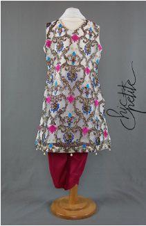 Get fashionable kids salwar kameez by click on mouse