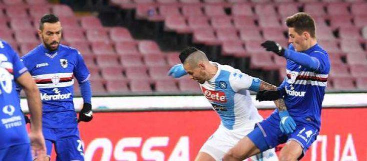 Sampdoria-Napoli. Ultima occasione per il sorpasso alla Roma. Per gli azzurri resta una stagione super
