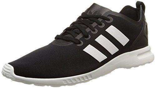 adidas ZX Flux Smooth, Damen Sneakers, Schwarz (Core Black/Core White/Core White), 36 EU (3.5 Damen UK) - http://on-line-kaufen.de/adidas/36-eu-adidas-zx-flux-smooth-damen-sneakers