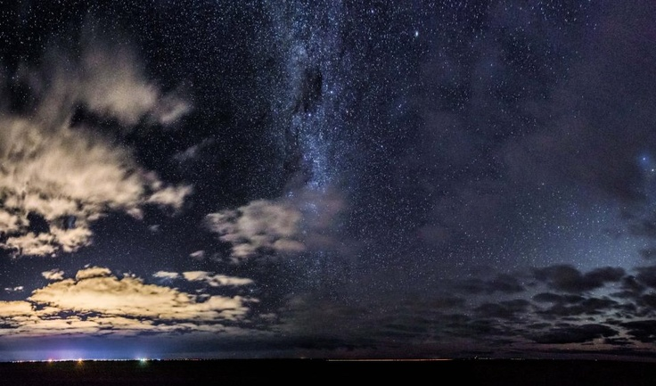 Panorama of Horsham, Milkyway and the Western Highway