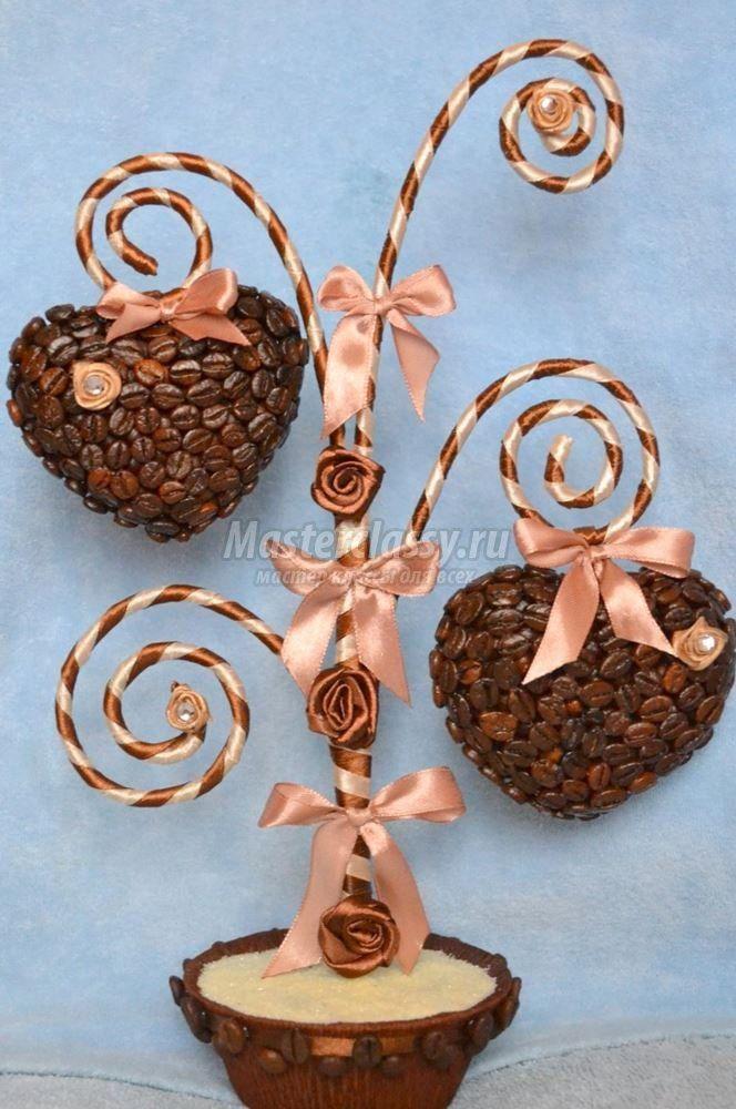 OOVVAAAAAAAA кофейное дерево сердце своими руками