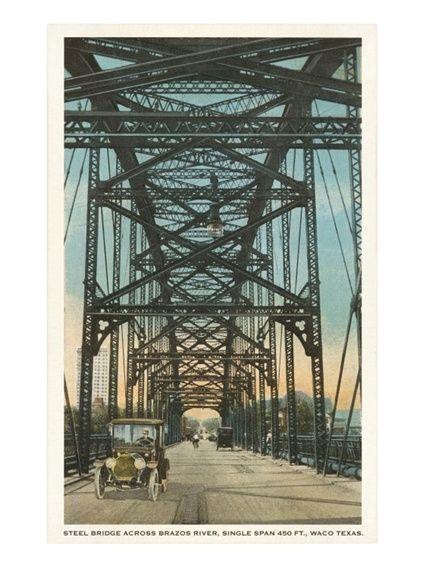 Steel bridge waco texas bridge texas and steel for American classic homes waco tx