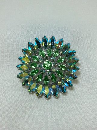 Sherman Green Brooch