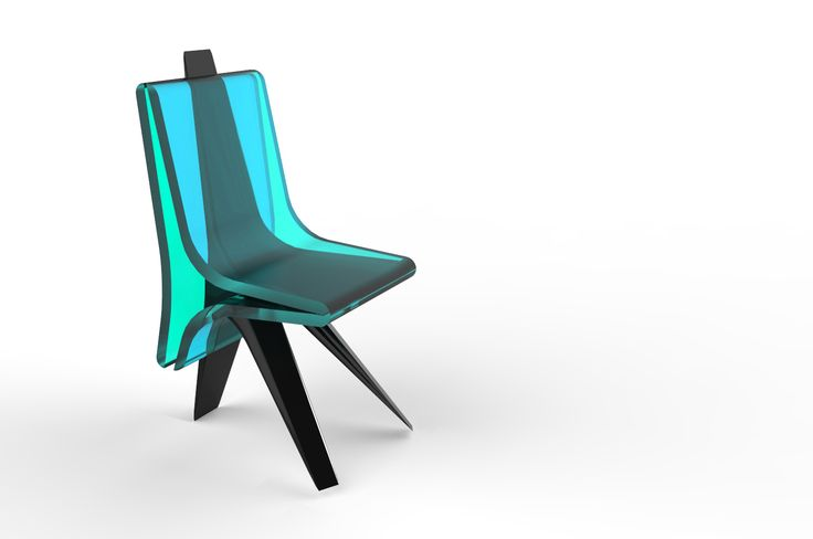 Tri-blade - conference chair project that can be part of office or residential interior. Project: Agnieszka Pawłowska