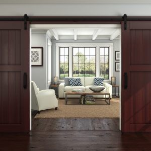 Hanging Barn Door Kit Interior