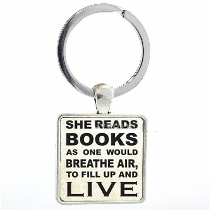 9 best bookworm gifts images on pinterest book lovers book nerd she reads books keychain fandeluxe Images