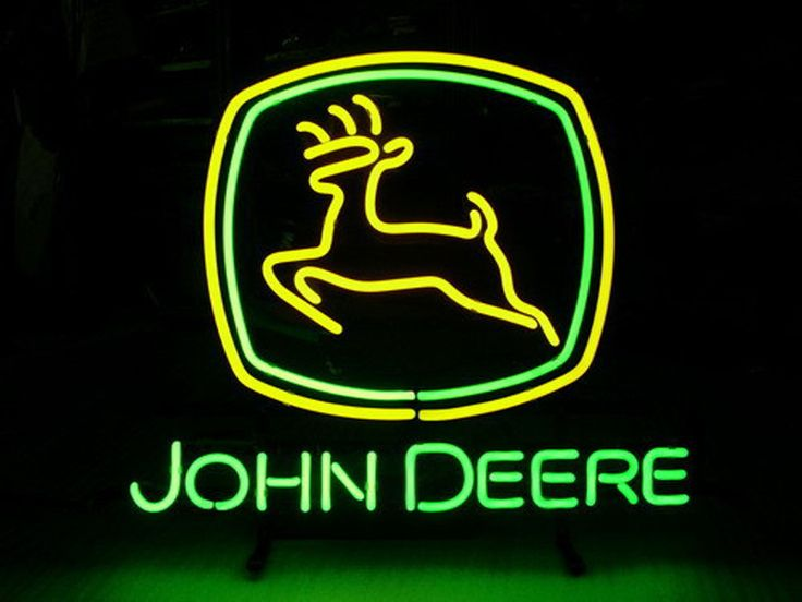 John Deere Neon Sign Real Neon Light Z1357