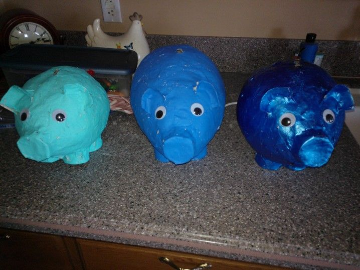 36 best paper mache crafts images on pinterest halloween for Simple paper mache projects
