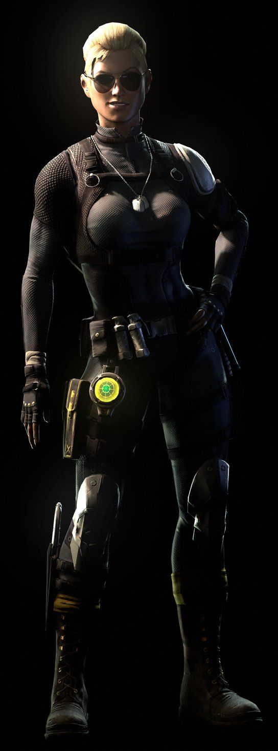 Mortal Kombat X Fan Art Cassie Cage Spec Ops And Hollywood Variation