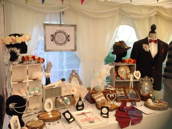 Lilly Dilly's stand at Birtsmorton Court Wedding Fete 2016