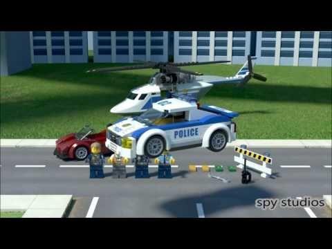 lego city the big chase youtube citycartoon - Lego City Dessin Anim