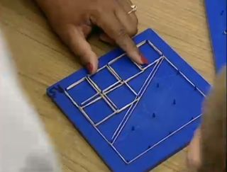 Math Coach's Corner: Exploring Fractions on a Geoboard.  Develop a deeper understanding of fractions through the use of manipulatives that promote flexible thinking and by focusing on the Mathematical Practices.