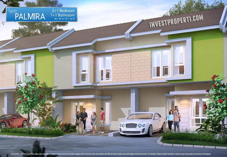 Palmira Type, cluster Carara, perumahan Paradise Serpong City.