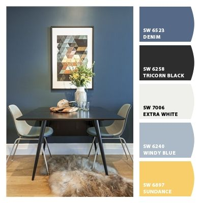 Sw 6523 Denim Paint Colors From Chip It By Sherwin