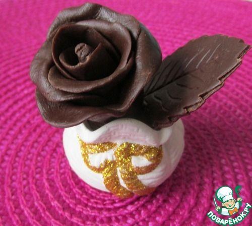 Шоколадные розы - кулинарный рецепт