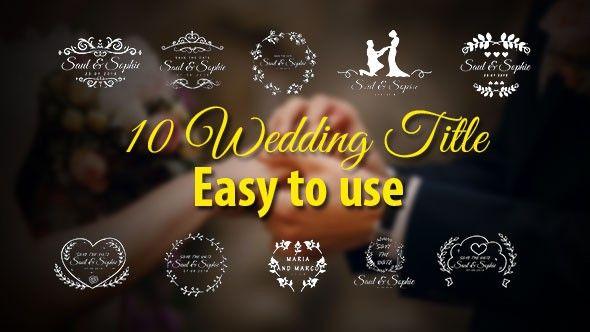 Wedding Titles Wedding Titles Wedding Title