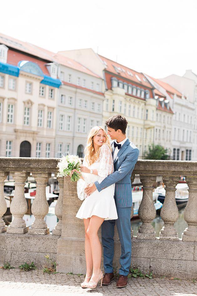 Chic Civil Ceremony | Ashley Ludaescher Photography | Bridal Musings Wedding Blog