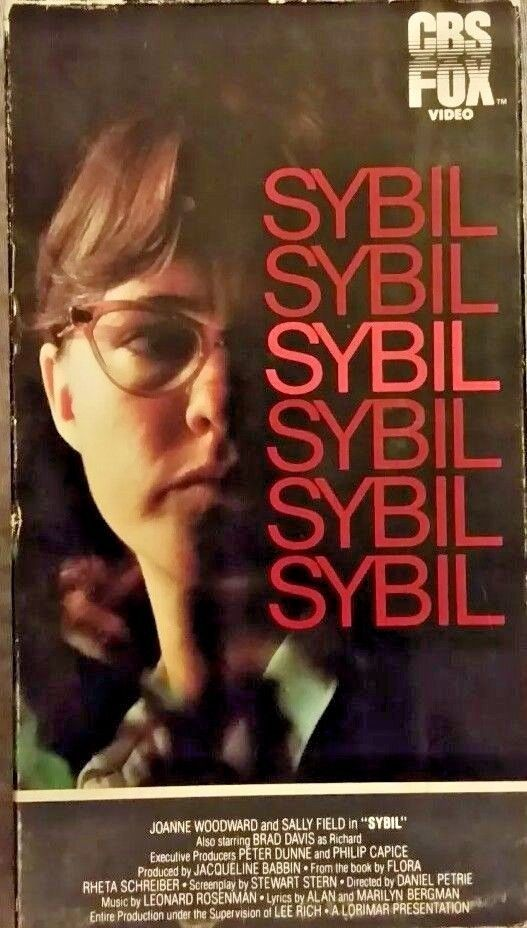 Sybil VHS Sally Field Joanne Woodward Brad Davis ***FREE SHIPPING***