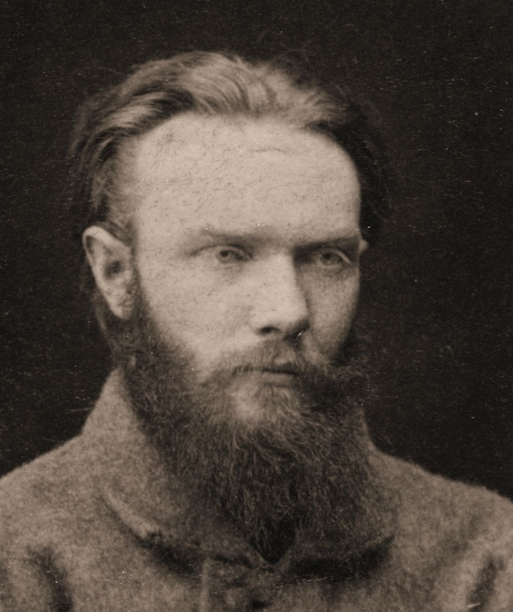 Shchedrin, a political prisoner in Russia (c. 1882).