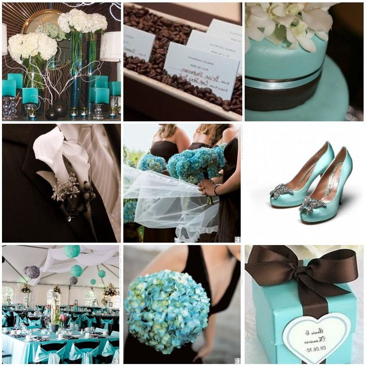 1000 images about wedding tiffany bluechocolate brown