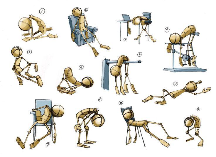 Edin Durmisevic: ANIMATION SKETCHES AND EXERCISES