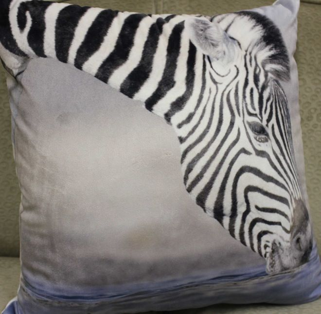 Zebra velvet cushion #Cushion | #Velvet | #VelvetCushion | #Zebra | #ZebraCushion | #Sale | #PhilBee | #Decor | #Melbourne | #Interiors | #InteriorDecorator | #Cushions