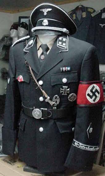 Die Deutschen aus Luxus Uniformen. Die beste in der Geschichte der Militäruniformen. Ich glaube schon.