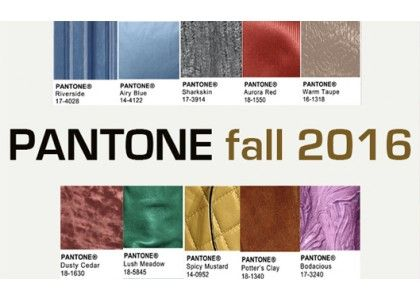 #Pantone Fall 2016 color trend. Check out the new blog post.
