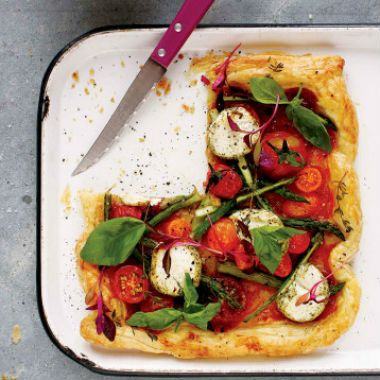 Tomato+and+asparagus+tart