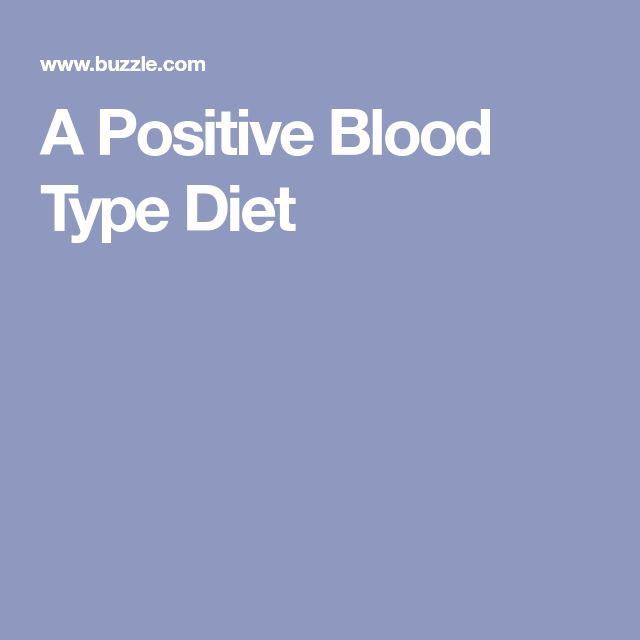 blood group a positive diet pdf