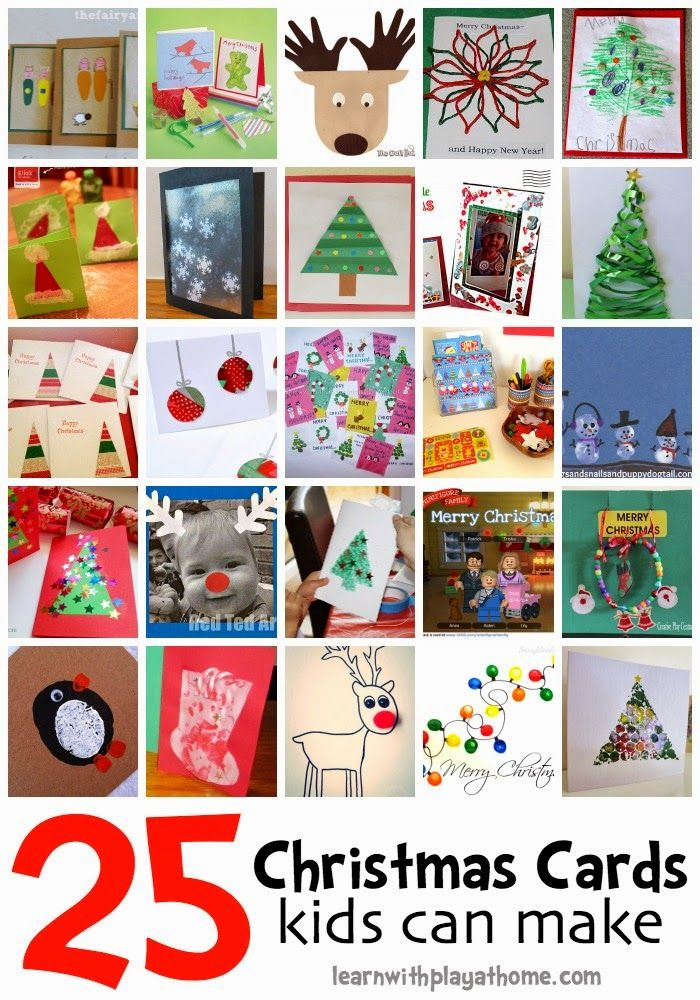 It's that time of year again, time to start getting our Christmas Craft on. My kids make handmade cards  for every occasion but sometim...