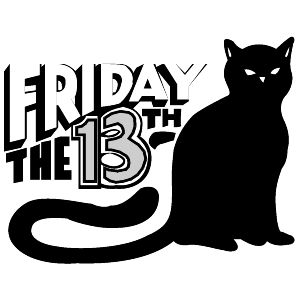 Friday 13th Clip Art | Friday the 13'th!