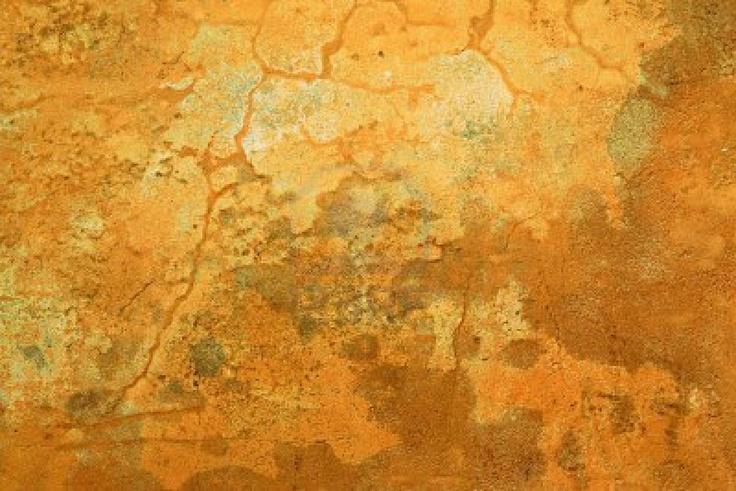 abstratc fond d 39 un mur grungy couleur ocre avec des fissures et weatheredd peinture fan e. Black Bedroom Furniture Sets. Home Design Ideas