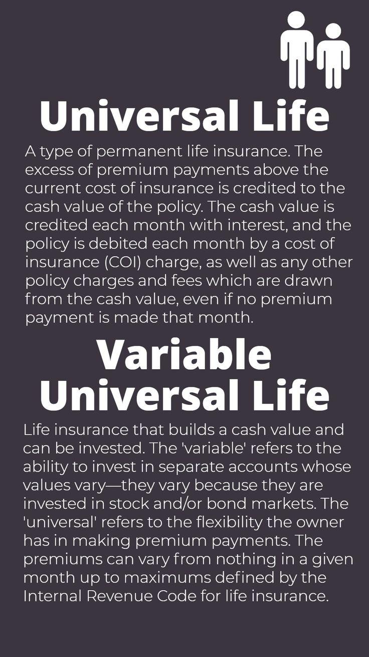 Life Insurance: Universal & Variable Universal Life ...