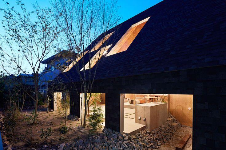 Дом-павильон с деревьями внутри в Японии (Интернет-журнал ETODAY)