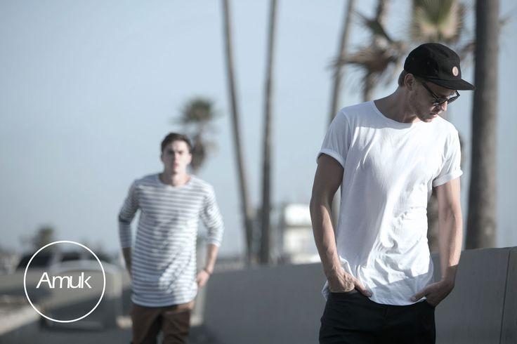 Amuk A15 Campaign @ Venice Beach, California. Models: David Witko (Chadwicks), Tyler Recher (LAModels, LA) Photographer: John Boone (www.johnboone.com)