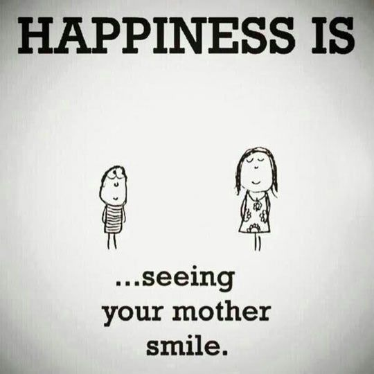 What Happiness Really Is About...I love my mommy!