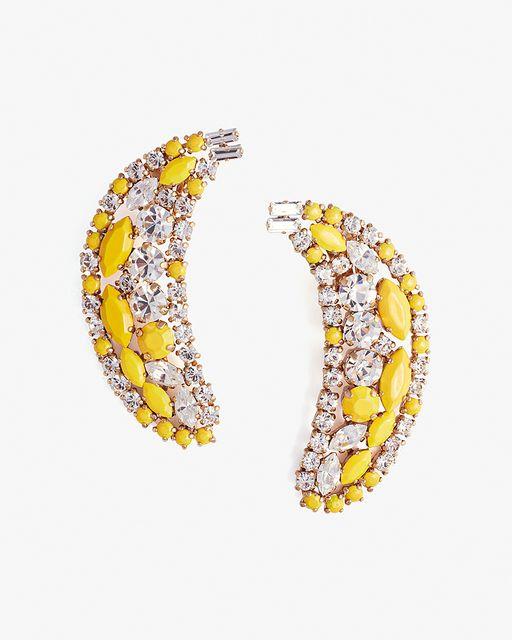 Shourouk Banana Earrings   LuckyShops