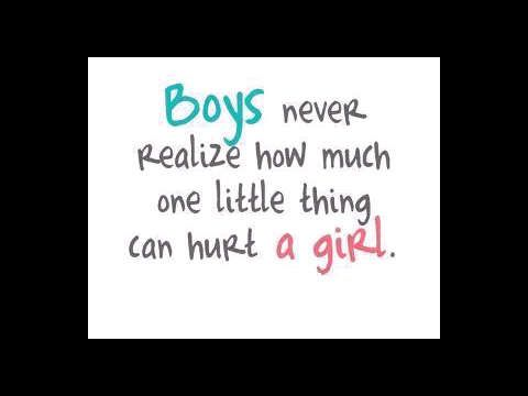 Soooooooooooooooooooooooooooooooooooootrue!! Boys are stupid!! I hope your reading this!