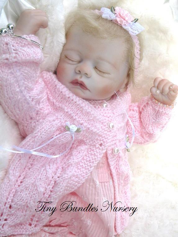 Meg by Marissa May reborn by Tiny Bundles Nursery