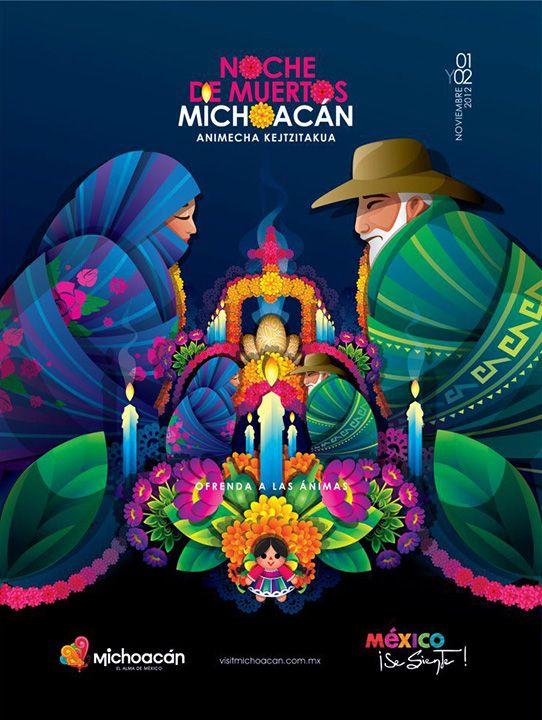 Dia de los Muertos/Day of the dead~ Noche de muertos en Michoacan. dayofthedead
