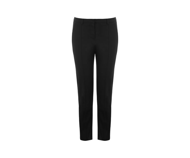 COMPACT COTTON TROUSER | Oasis