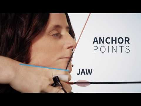 How to find a recurve anchor point | Archery 360 - YouTube
