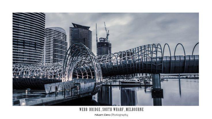 Webb Bridge, South Wharf, Melbourne