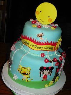 Ni Hao Kai Lan Birthday Cake #3 (Allanah)