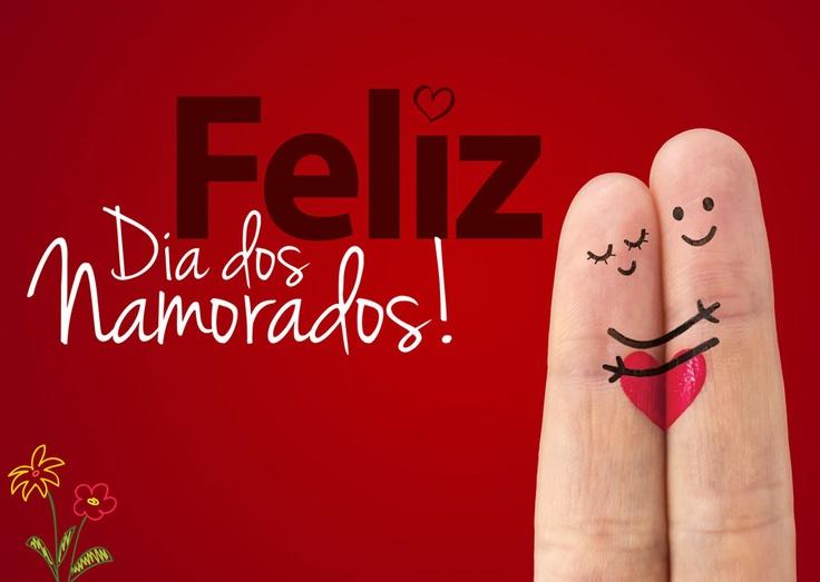 Feliz Dia dos Namorados! Aproveite para dizer para aquela pessoa especial o quanto você a ama! ♥ ♥ Visite nossa sessão MOSTRE AMOR! ♥
