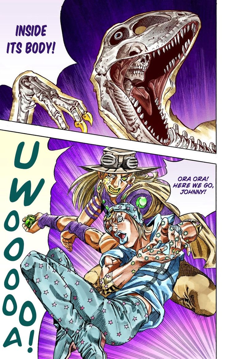 JoJo's Bizarre Adventure Part 20   Steel Ball Run Official Colored ...